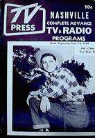 TV Guide 1954 Regional Jim Lyna TV Press Magazine Barry Nelson Joan Caulfield