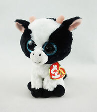 "6"" TY Beanie Boos Plush Stuffed Animals Toys Doll New Butter Cow 2017 With tag"