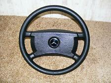 original Lederlenkrad Lenkrad 400mm Mercedes W201 W107 W124 W126 W129 G Modell