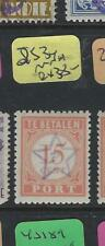 DUTCH EAST INDIES JAPANESE OCCUPATION (P2202B) JSCA  2S34 ON POSTAGE DUE 15C MNH