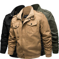 New autumn winter men's jacket casual jacket cotton large size men's clothing