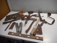 A91- Antique Woodworking Jobbers Tool Lot