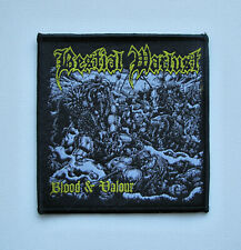BESTIAL WARLUST [black] - Woven Patch / Sadistik Exekution Beherit Weregoat
