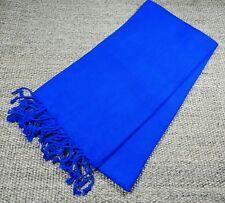 Turkish File Premium Quality Hamam Peshtemal & Beach Towel  Dark Blue