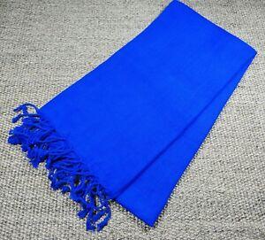 Turkish File Premium Quality Hamam Peshtemal & Beach Towel  Dark Blue
