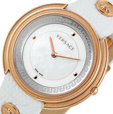 PRE-OWNED $1,275 Versace Womens Thea Stainless Steel Swiss Made Watch VA7030013