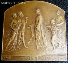 MED2263 - MEDAILLE EXPOSITION UNIVERSELLE DE GAND 1913 par DEVREESE - MEDAL