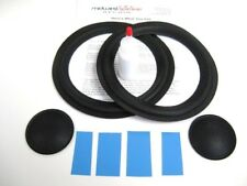 "Allison 6 Six 8"" Woofer Refoam Kit w/ Shims & Dust Caps - Speaker Foam Repair"