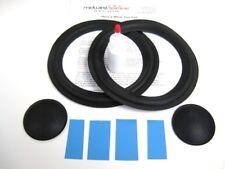 "Genesis 8"" Woofer Refoam Kit - Speaker Foam Repair w/ Shims & Dust Caps!"
