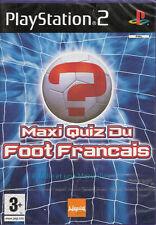 Jeu PS2 Maxi Quiz du Foot Français - Playstation 2