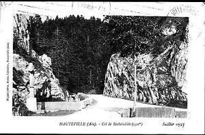 A02128+  CPA 01 + HAUTEVILLE  COL DE ROCHETAILLEE