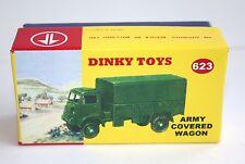 DINKY BOX 623 Esercito Carro coperto Scatola unico codice 3 Diorama Design