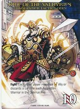 ODIN Upper Deck Marvel Legendary COMMANDER RIDE OF THE VALKYRIES