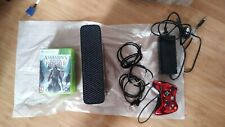 Microsoft Xbox 360 460GB Black Console -Very Good Condition, faulty controller