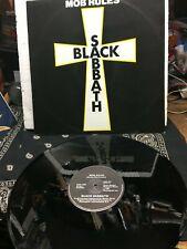 """BLACK SABBATH """"MOB RULES"""" SIDE 2: DIE YOUNG 1980 LP HARD ROCK VINYL EX!"""