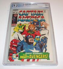 Captain America #116 - PGX NM- 9.2 - 1969 Marvel Silver Age Issue (Red Skull)