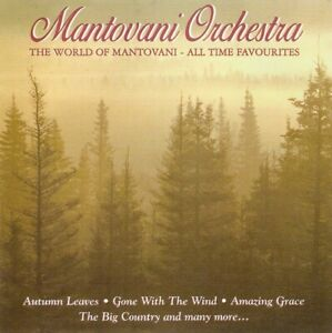 Mantovani Orchestra - The World Of Mantovani - All Time Favourites (CD 1996)