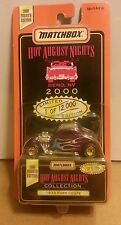 MATCHBOX 2000 4th Edition HOT AUGUST NIGHTS Reno - 1933 FORD COUPE - 1:64 LE