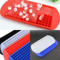160 Grids Small Ice Cube Tray Frozen Cubes Trays Silicone Mold Kitchen Bar DIY