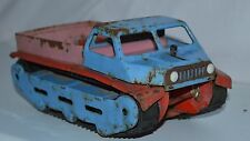 Rare Toy 1970's Russian Soviet Ussr Tin metal military Car all-terrain vehicle