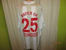 Bayer 04 Leverkusen Adidas Trasferta Maglia 2007/08 + N. 25 Schneider TG. XXXL
