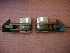 2014-2018 Chevy & GMC Power Fold Tow Mirrors - Silverado & Sierra Chrome +Smoked