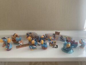 Kinder Surprise Los Papagallos Complete Set Italy.+ BPZ. Fererro. Cake toppers.