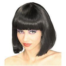 Black bob cut déguisements perruque de cheveux stag party costume ne Nouveauté perruques cosplay UK