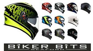 AGV K5-S 2021 Sports Motorcycle Carbon/Fiberglass Lightweight Max Vision Helmet