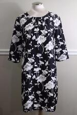KATE SPADE Florence Broadhurst Black White Dorothy 3/4 Sleeve Dress 12 (DR1000