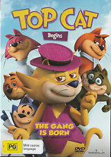 TOP CAT BEGINS Brand New but UNSEALED Region 4