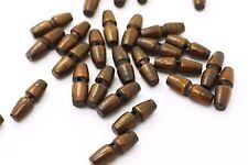 Dark Brown Wooden Toggles Button Two Hole Children Mini Duffel Duffle Coat 20pcs