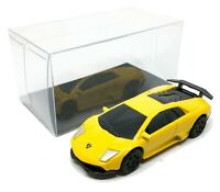 "Lamborghini Murgielago LP 670-4SV Yellow 1/64 (2.5"") RMZ City Free Display Box"
