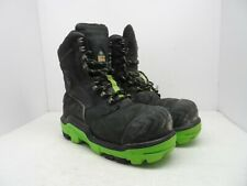DUNLOP Men's 8'' Composite Toe Composite Plate Leather Work Boot DLNA16100 10.5M