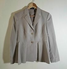 254fc300110 NWT Theory Braneve Continuous Wool Blend Blazer Jacket Beige Size 2, 6 $525