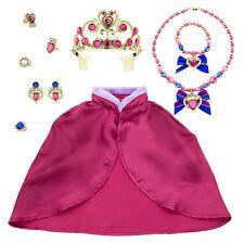 Disney Frozen PRINCESS ANNA Costume Accessory Set  Cape Tiara Necklace Earrings