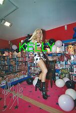 Kelly Trump original Foto Mannheimer Show Selten ca.15cm x 20cm
