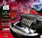 2x Mato RDTA Alien Coil,Handmade Ni80,0.46 OHM