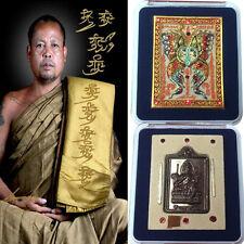 Thai Amulet Phra Thep Jamlang Phamorn King Of Butterfly by Kruba Krissana BE2555