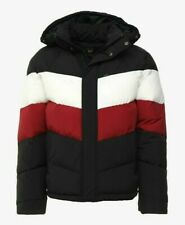 BNWT mens designer LEE jacket winter puffer warm thick padded size L RRP £180