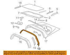 Chevrolet GM OEM 97-04 Corvette Roof-Weatherstrip Seal 10329158