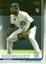 2019 Topps Series 2 Base #667 Ronny Rodriguez - Detroit Tigers RC