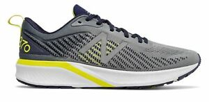 New Balance Men's 870v5 Shoes Grey with Yellow