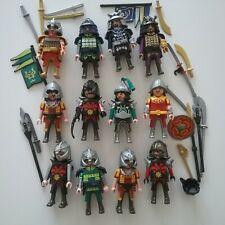PLAYMOBIL  Samurai  Ninja Asiakrieger Ritter 12 Figuren Mongolen