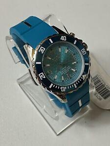 New KYBOE 40mm Giant Mariner Aqua Marine Dial/Silicone Strap Women's Watch LED