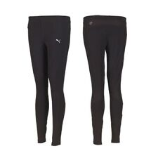 Puma Womens Essentials Running Long Tights - Black - Ladies 12