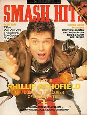 Phillip Schofield on Mag Cover 1987  George Michael  Clark Datchler  Wet Wet Wet