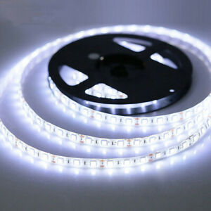 LED Strip Light 2835 SMD DC12V 300Led Flexible LED Lamp Tape Ribbon 5M White