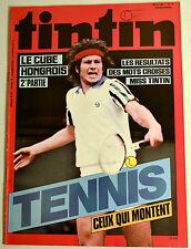 Journal Tintin BD Comics Magazine Hebdo No 13 36e 1981 Tennis