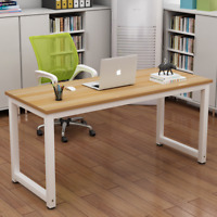 Home Office Computer Desk PC Laptop Table Metal Leg Workstation Study Furniture`